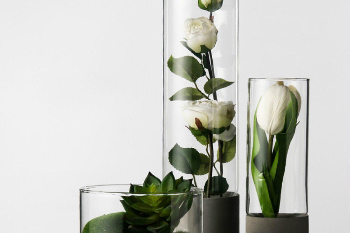 Cement Vase 001
